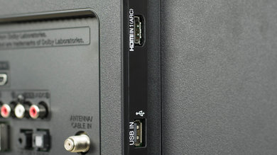 LG LH5750 Side Inputs Picture