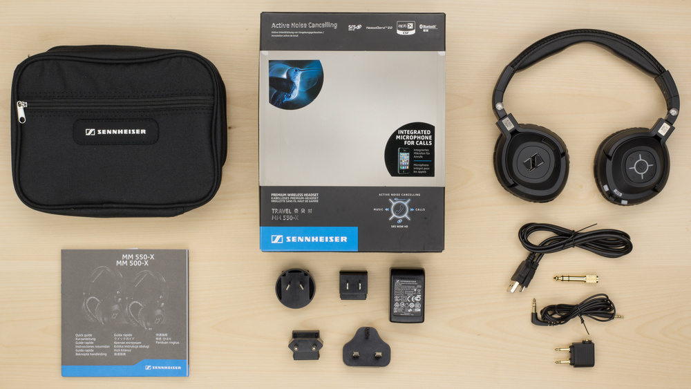 Sennheiser MM 550-X Wireless In the box Picture