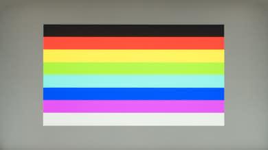 HP OMEN 27 Color bleed horizontal