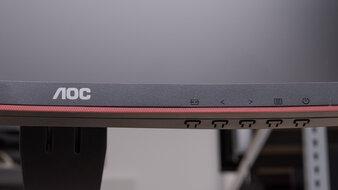 AOC CQ27G1 Controls Picture