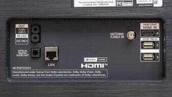 LG 48 C1 OLED Inputs 2