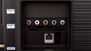 Samsung RU7300 Rear Inputs Picture