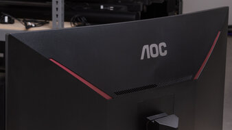 AOC CQ32G1 Build Quality Picture