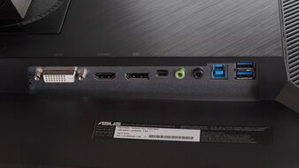 ASUS ProArt Display PA278QV Inputs 1