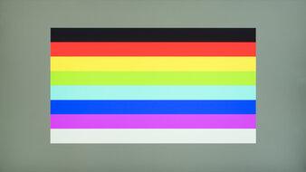 Lenovo Q27q-10 Color Bleed Horizontal