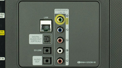 Samsung JS7000 Rear Inputs Picture
