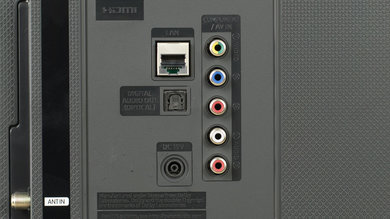 Samsung M5300 Rear Inputs Picture