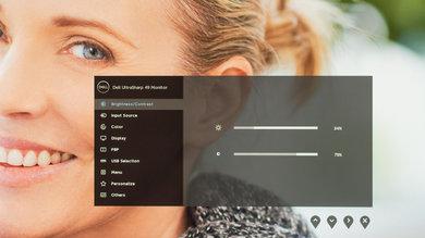 Dell U4919DW OSD picture