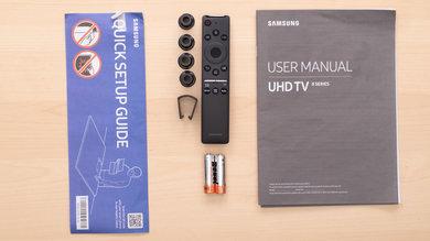 Samsung RU8000 In The Box Picture