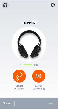 JBL CLUB 950NC Wireless App Picture