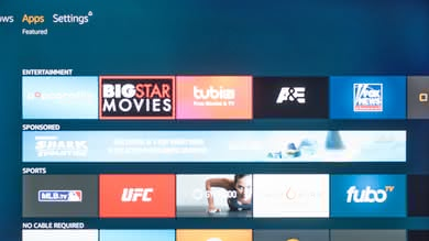 Toshiba Fire TV 2018 Apps Picture