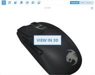 ROCCAT Kain 200 AIMO 3D Model