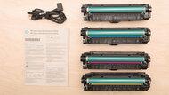 HP Color LaserJet Enterprise M554dn In the Box Picture