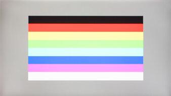 LG 32GN50T-B Color Bleed Horizontal