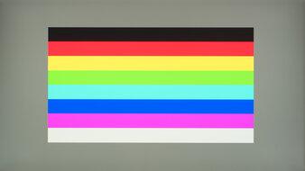 HP OMEN 27i Color Bleed Horizontal
