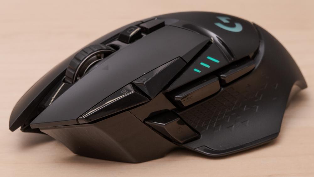 Logitech G502 Lightspeed Wireless - Beste draadloze gaming muis