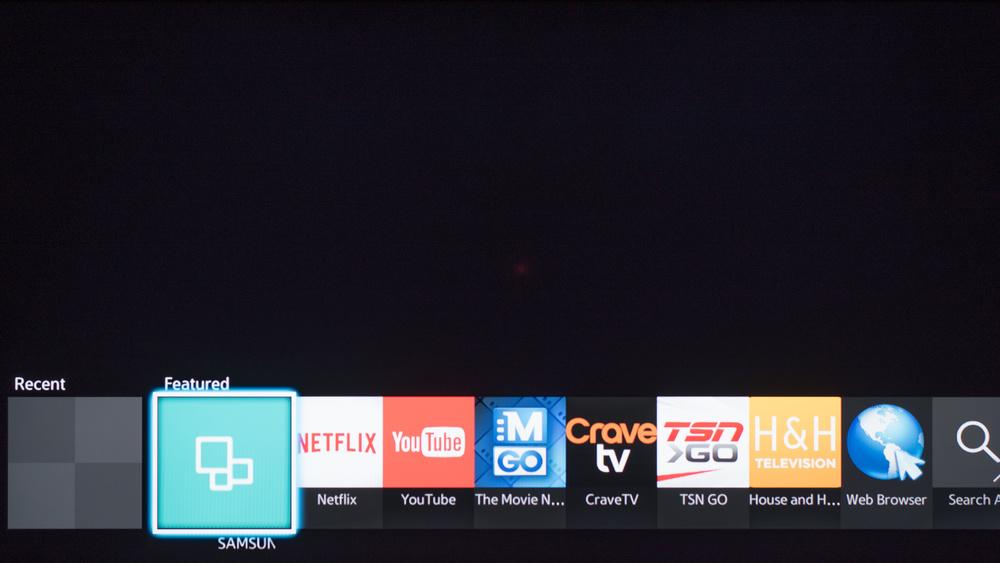 Samsung J5200 Smart TV Picture