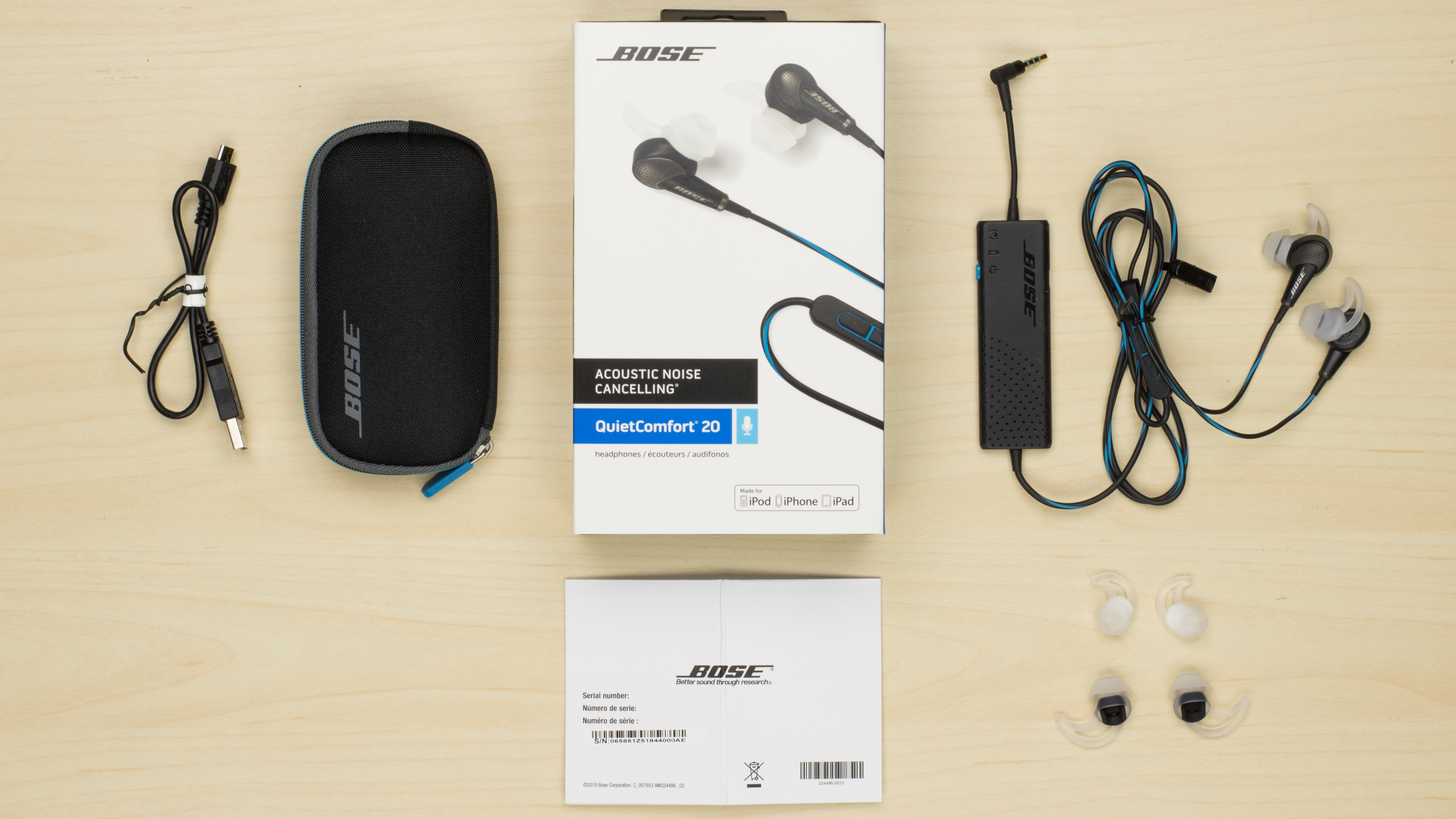 how to put on bose connect wireless ear buds
