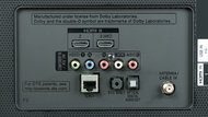 LG UH6150 Rear Inputs Picture