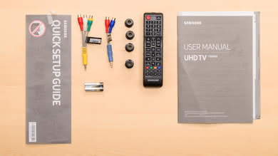 Samsung NU7300 In The Box Picture