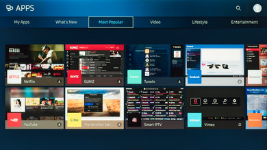Samsung KS8000 Apps Picture