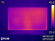 Sony Z9D Temperature picture