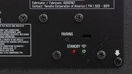 Yamaha YAS-408 Physical controls subwoofer photo 1