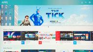 Samsung Q8C/Q8 QLED 2017 Apps Picture