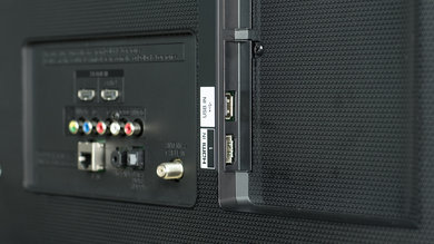 LG UH6150 Side Inputs Picture