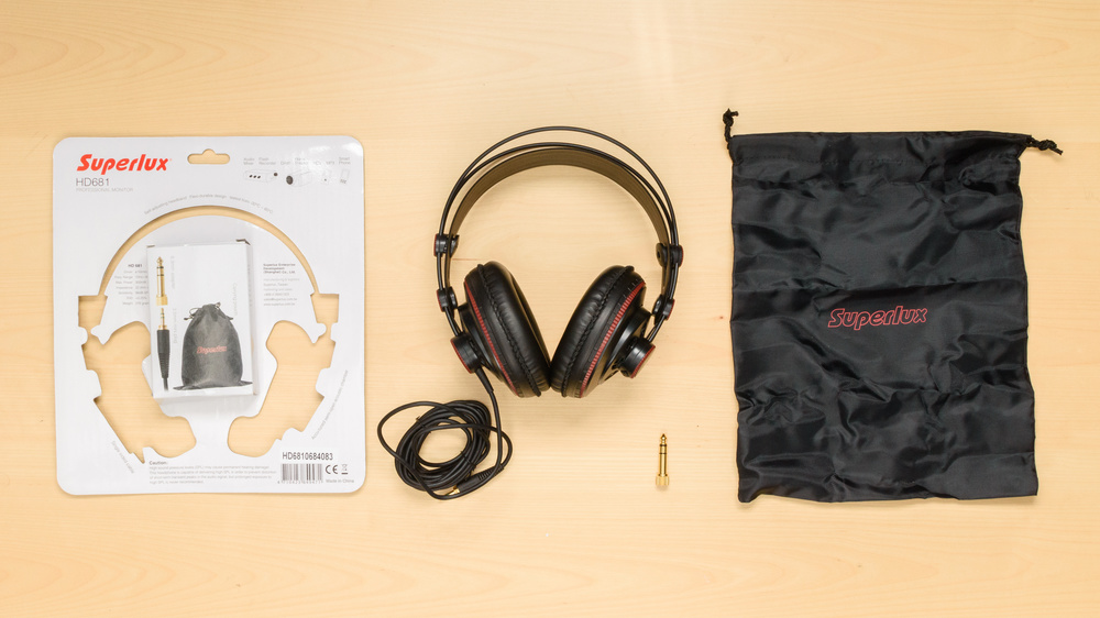 Superlux HD 681 In the box Picture