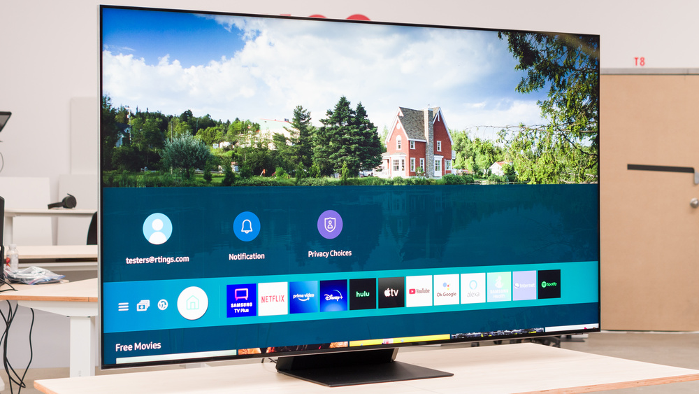 Samsung QN800A 8k QLED Picture