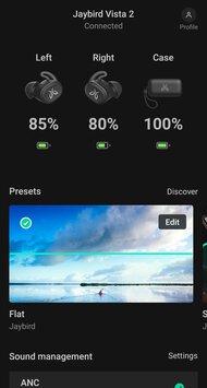 Jaybird Vista 2 Truly Wireless App Picture