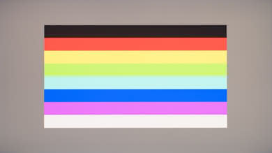 Acer Predator X27 Color bleed horizontal