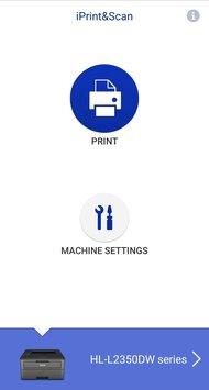 Brother HL-L2350DW App Printscreen