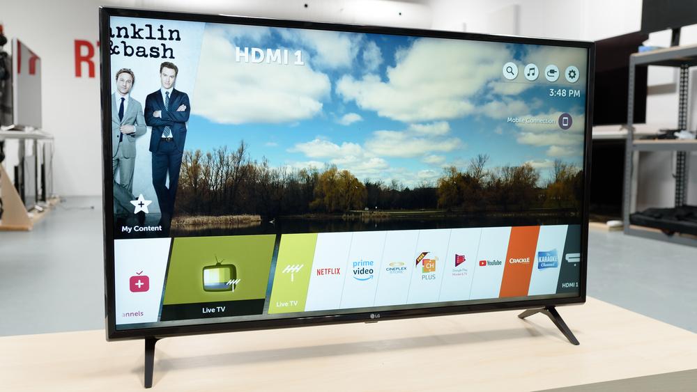 LG UK6300 Design Picture