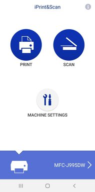 Brother MFC-J995DW App Printscreen