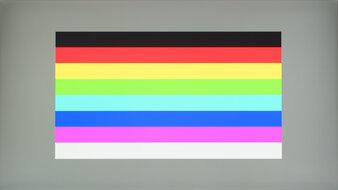 Dell S2721DGF Color Bleed Horizontal