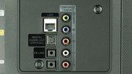 Samsung JU6500 Rear Inputs Picture