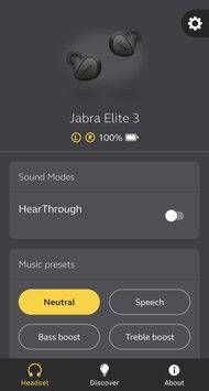 Jabra Elite 3 True Wireless App Picture