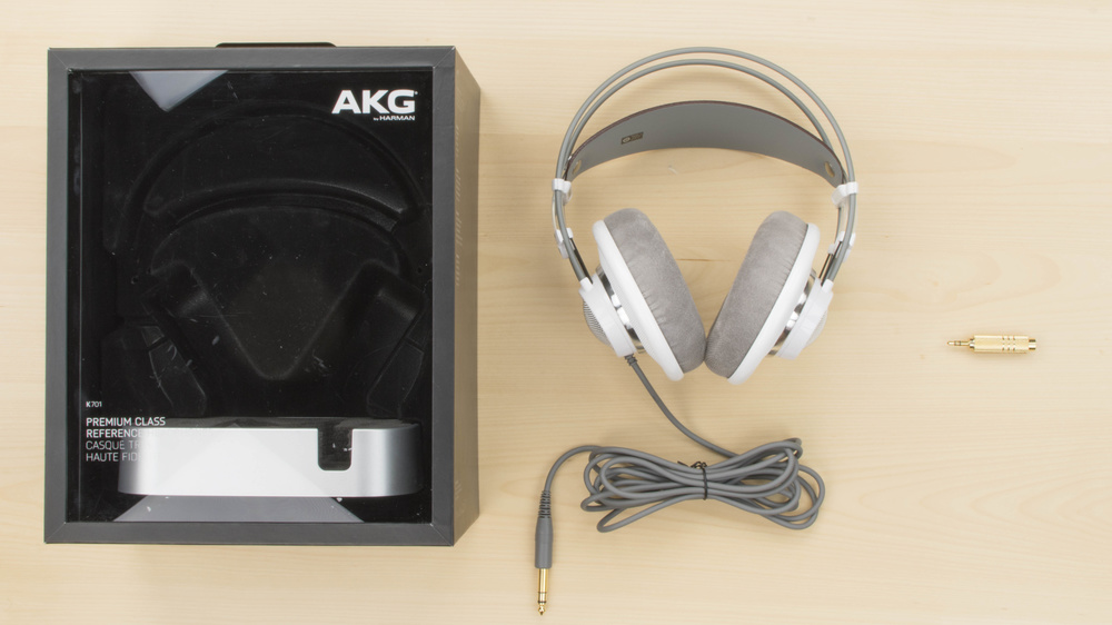 AKG K701 In the box Picture