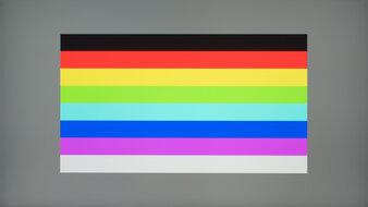 Samsung Odyssey G3 LF27G35T Color Bleed Horizontal