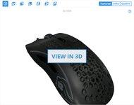 Glorious Model D 3D Model