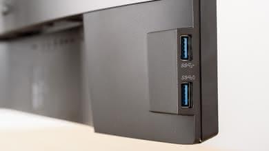 Dell U2518D Inputs 2
