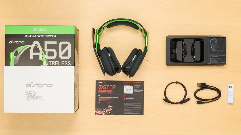 Astro A50 In the box Picture