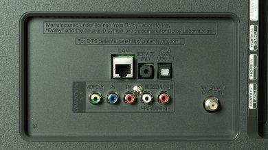 LG LB5800 Rear Inputs