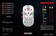 HK Gaming Mira-S Software settings screenshot