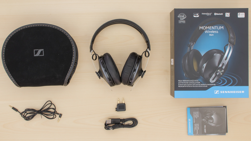 Sennheiser Momentum 2.0 Wireless In the box Picture