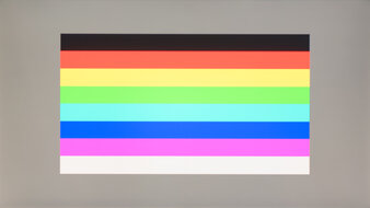 Gigabyte AORUS FI27Q-X Color Bleed Horizontal