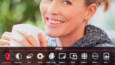 MSI Optix G27C OSD picture