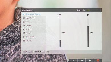 Dell U2717D OSD picture